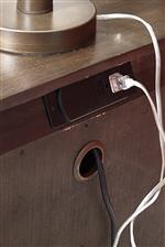 Built-in Outlets Offer Modern Convenience