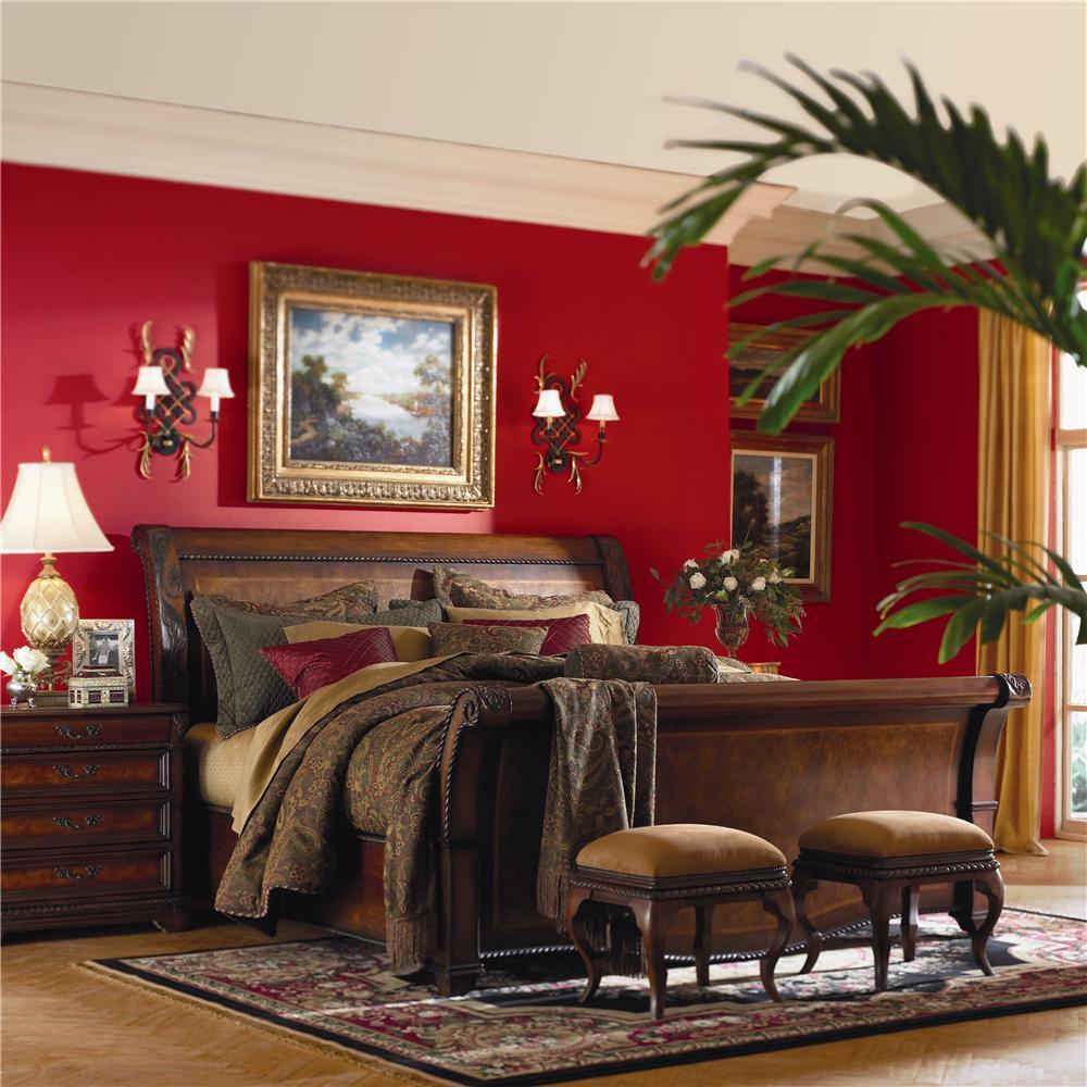 Aspenhome Napa  Queen Bedroom Group - Item Number: I74 Q Bedroom Group 1