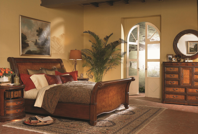Napa Bedroom Furniture Aspenhome Napa Napa King Sleigh Bed Stoney Creek Furniture