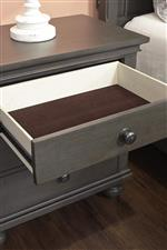 Felt-Lined Drawers for Delicate Items