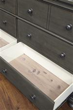 Cedar-Lined Drawers Prevent Bugs