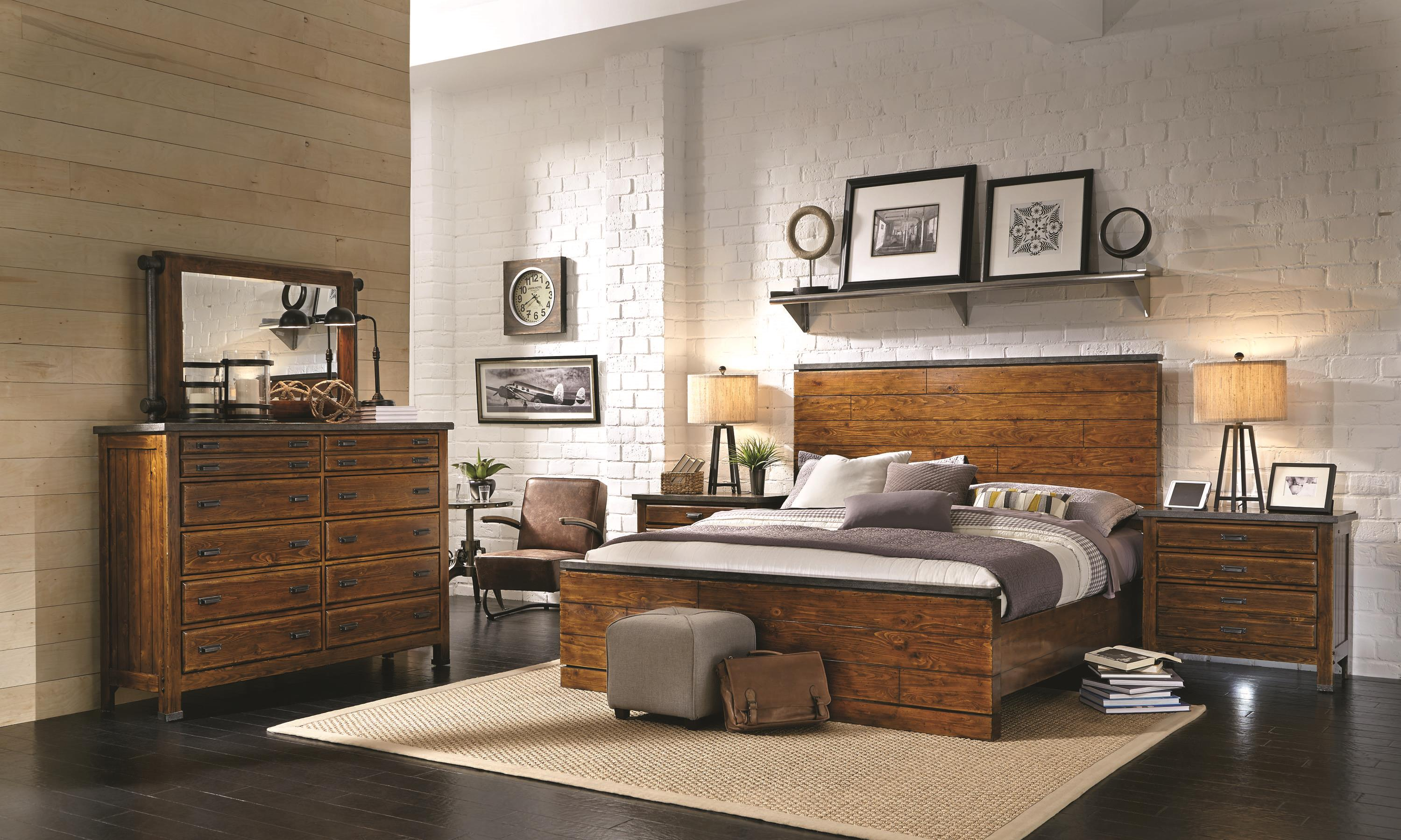 Aspenhome Rockland King Bedroom Group - Item Number: I58 K Bedroom Group 2