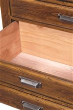 Cedar-Lined Bottom Drawers