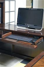 Flip Down Keyboard Drawer