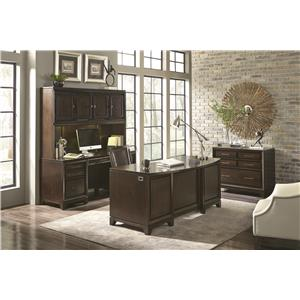 Aspenhome Viewscape 5 Drawer File Cabinet