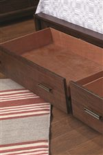Aromatic Cedar Lined Drawers for Out of Season Clothing