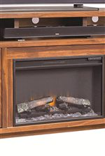 Select Consoles Feature Fireplace Inserts