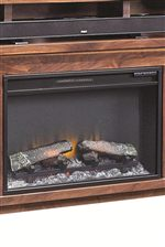 Select Consoles Feature a Fireplace Insert