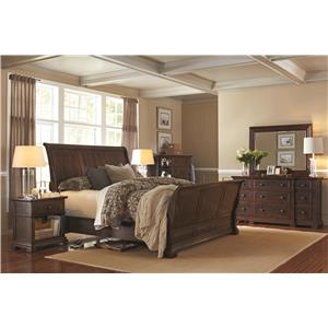 Morris Home Furnishings Westbrooke Queen Bedroom Group