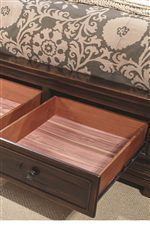 Cedar-Lined Drawer Bottoms