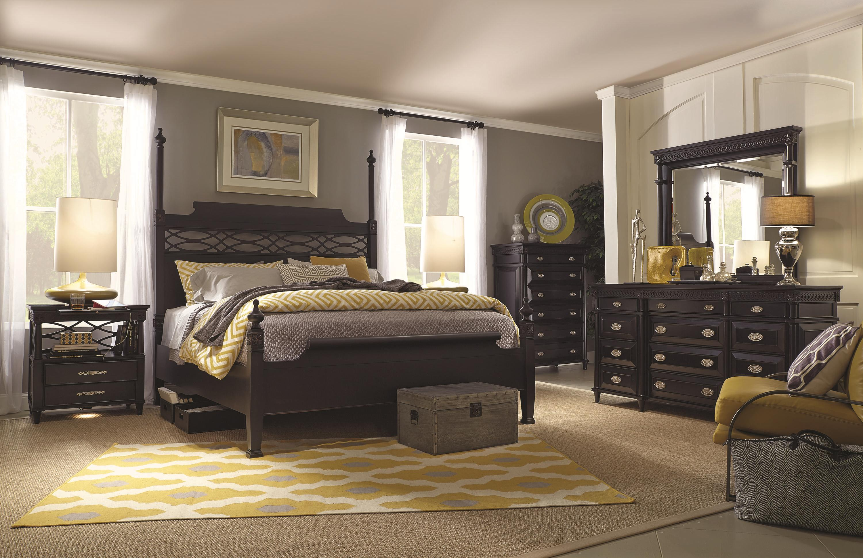 Aspenhome Young Classics King Bedroom Group - Item Number: I88 K Bedroom Group 4
