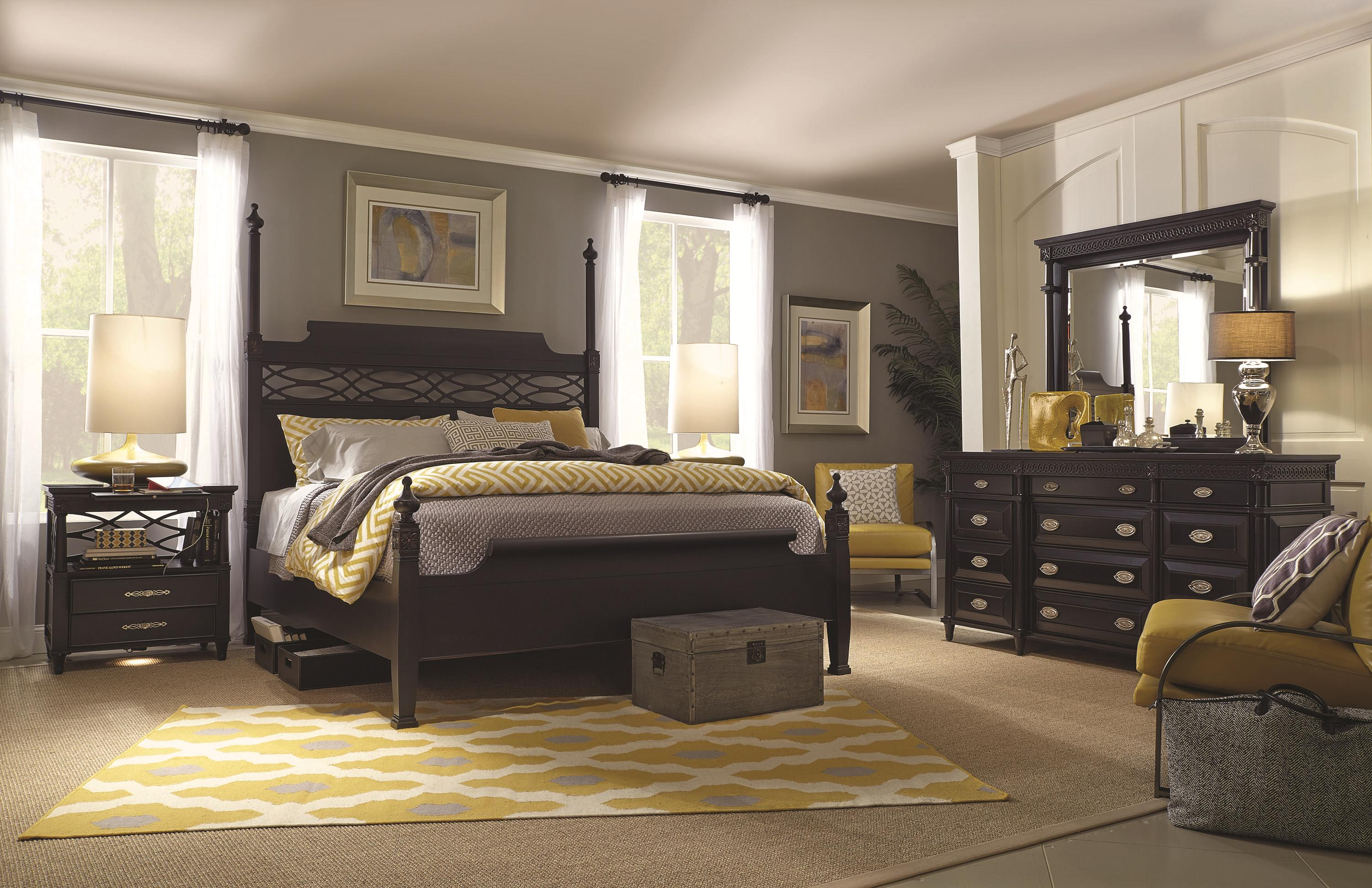 Aspenhome Young Classics King Size Chesapeake Poster Bed Belfort Furniture Poster Beds