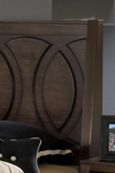 Austin Group Presley 520 Contemporary 4 Drawer Dresser With Chrome Drawer  Handles   BigFurnitureWebsite   Dresser