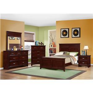 Austin Group Skylar Twin/Full Bunk Bed Bedroom Group