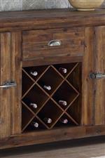Sideboard Built in Bottle Storage