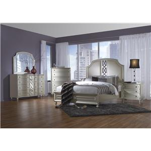 Avalon Furniture Regency Park Queen Bedroom Group