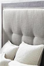 Tufted Headboard Adds Sophistication