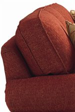 Plump Semi-Attached Back Cushions