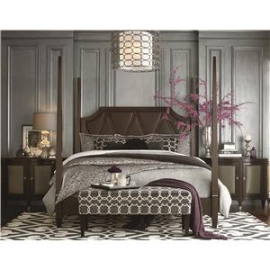 Bassett Cosmopolitan Queen Bedroom Group