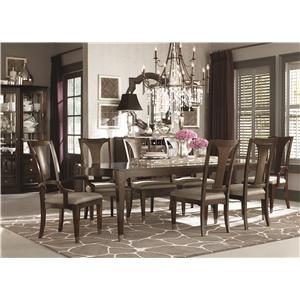 Bassett Cosmopolitan Formal Dining Room Group