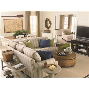 Bassett Custom Upholstery - Loft 2 Piece Sectional