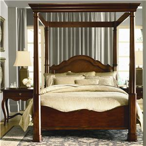 Bassett Furniture Louis Philippe Panel Bed