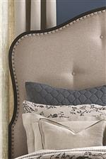 Upholstered Headboards offer a Soft Vintage Look