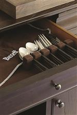 Silverware Drawers Keep Items in Place