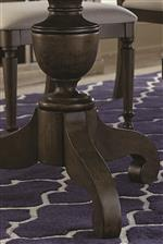 Pedestal Table Bases have a French Artisan Look
