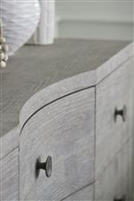 Softly Curved Drawer Fronts