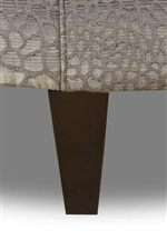 Tapered Wood Legs Add Contemporary Sleekness