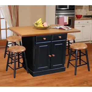Beechbrook 5020 5 Piece Kitchen Island U0026 Backless Stool Set    BigFurnitureWebsite   Pub Table And Stool Set