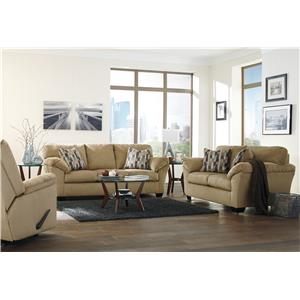 Ashley Aluria Stationary Living Room Group