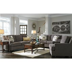 Ashley/Benchcraft Barinteen Stationary Living Room Group