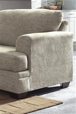Flared Arms, T-Style Seat Cushions and Flared Back Cushions