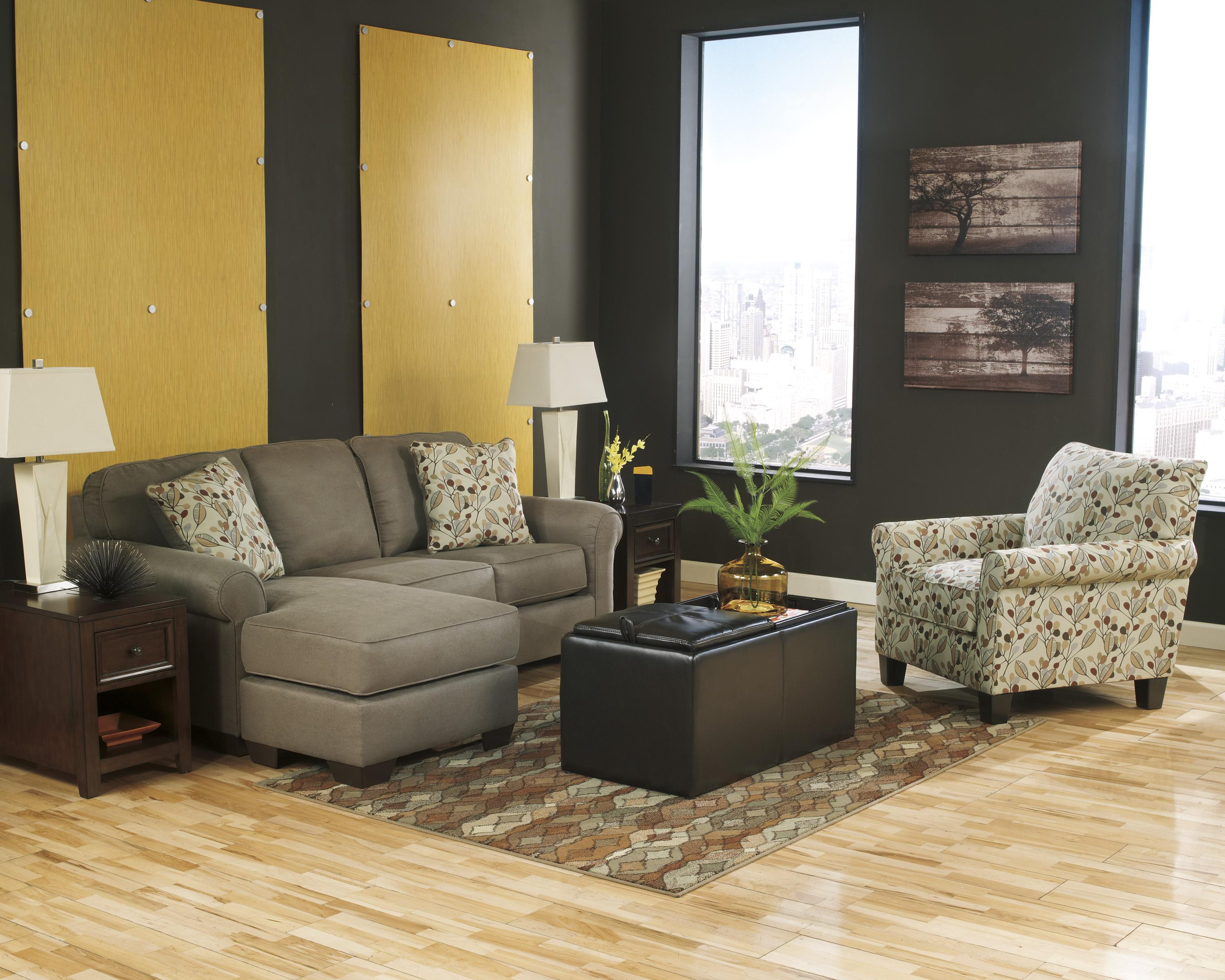 Benchcraft Danely - Dusk Stationary Living Room Group - Item Number: 35500 Living Room Group 2