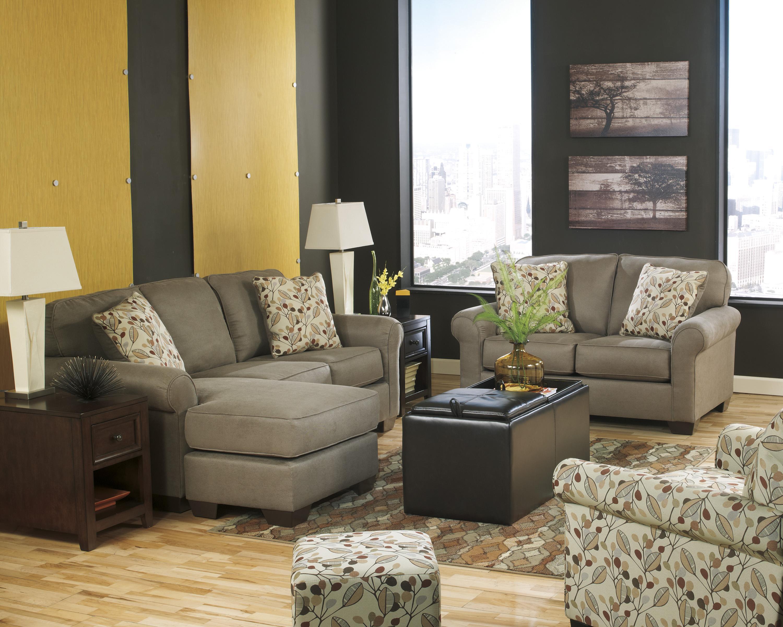 Benchcraft Danely - Dusk Stationary Living Room Group - Item Number: 35500 Living Room Group 5