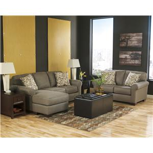 Benchcraft Danely - Dusk Stationary Living Room Group