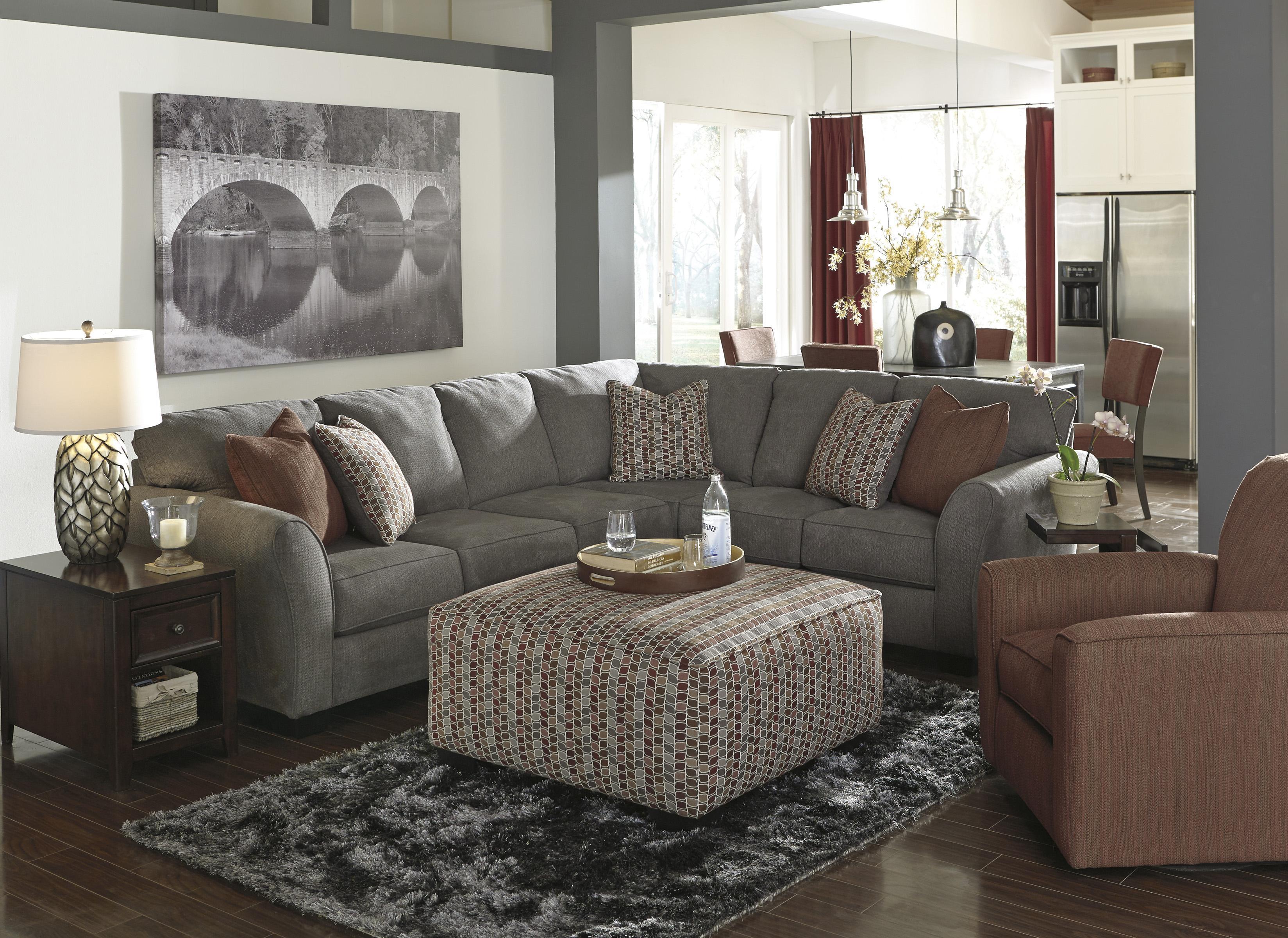Benchcraft Doralin - Steel Stationary Living Room Group - Item Number: 86800 Living Room Group