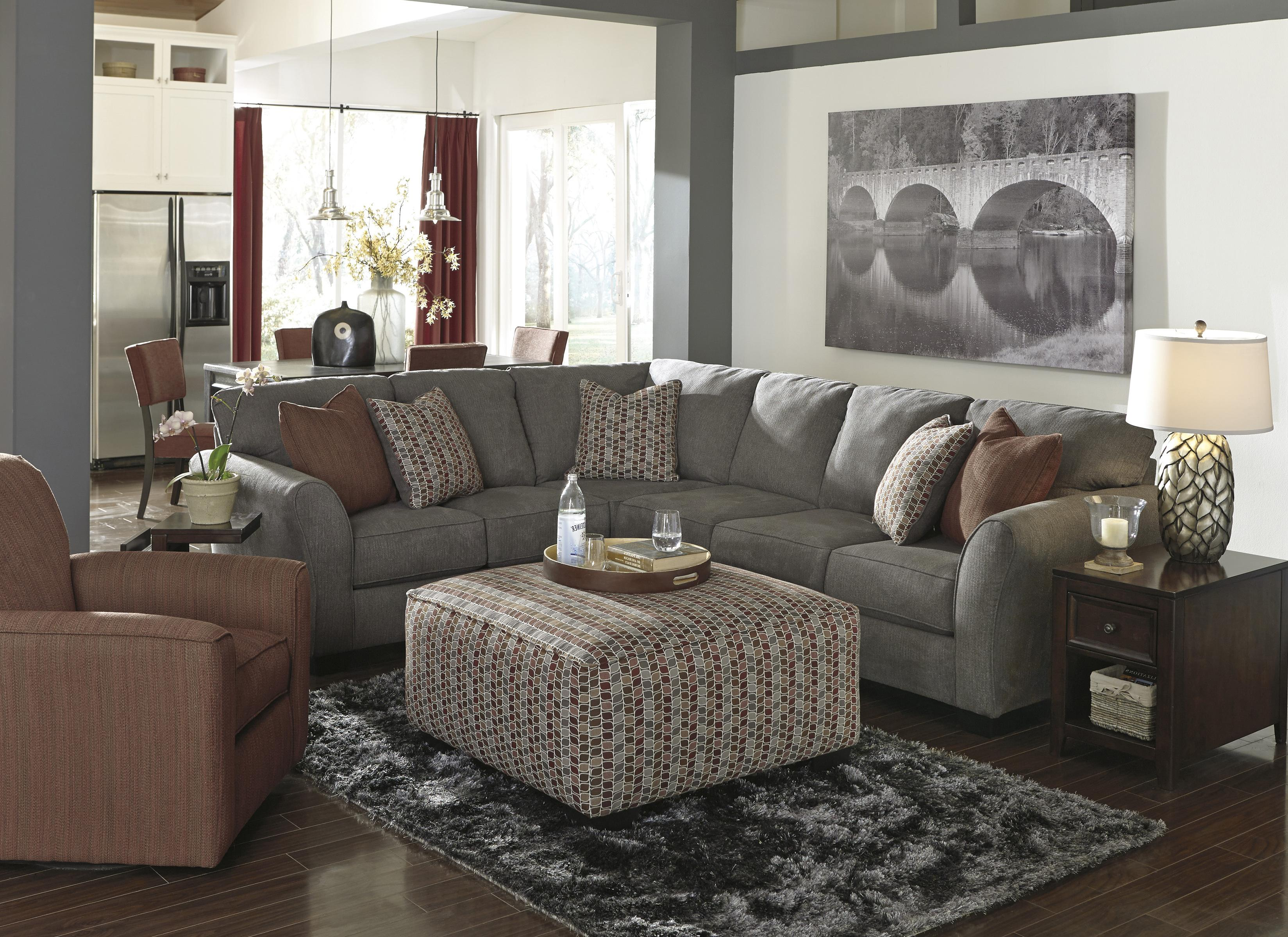 Benchcraft Doralin - Steel Stationary Living Room Group - Item Number: 86800 Living Room Group 2