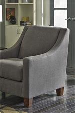Accent Chair in Matching Fabric