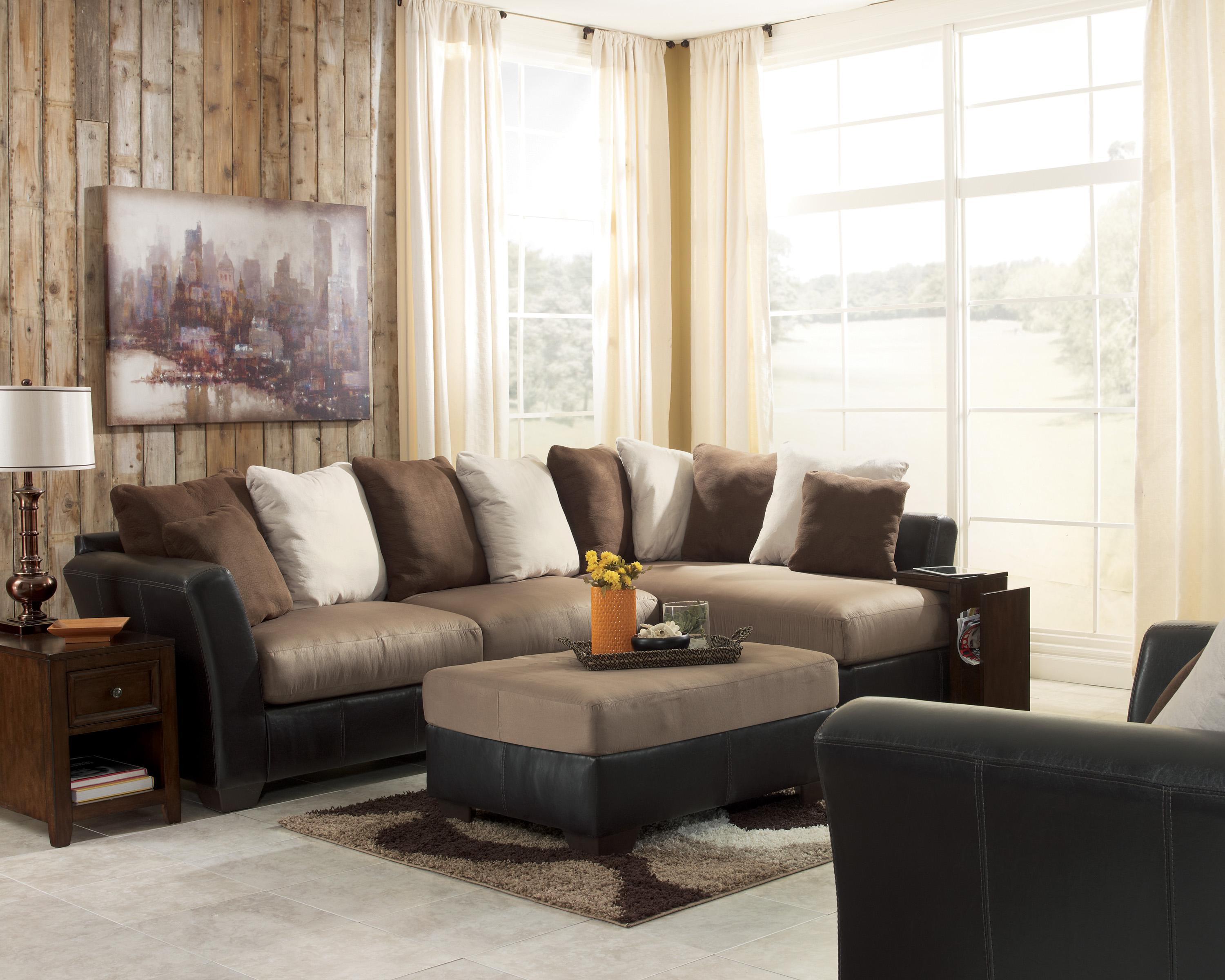 Mocha Sectional Sofa hmmi