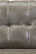 Stylish Tufted Detailing