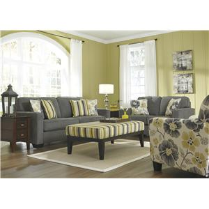 Benchcraft Safia - Slate Stationary Living Room Group