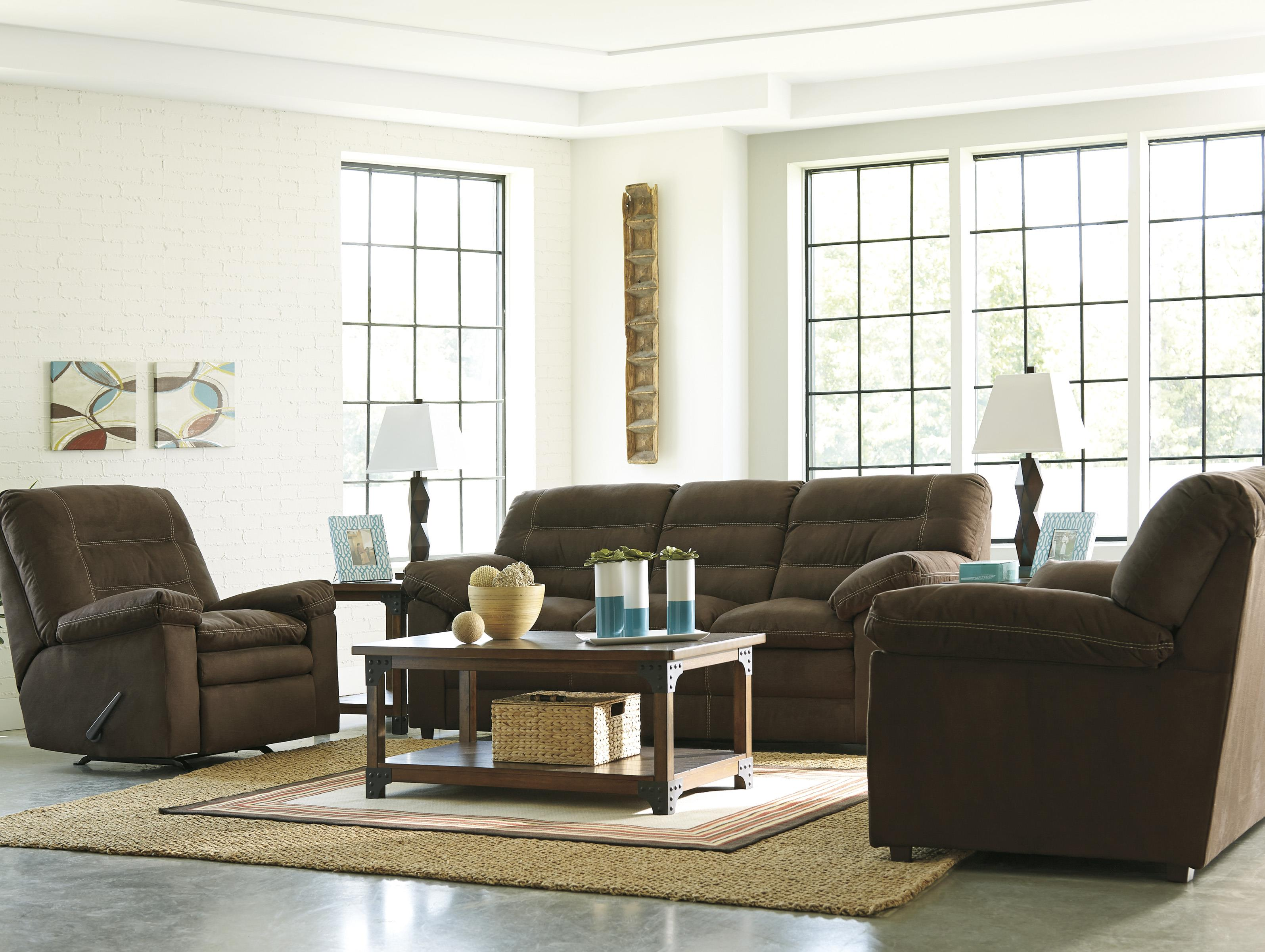 Benchcraft by Ashley Talut Stationary Living Room Group Royal