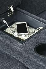 Storage Console with USB Charging
