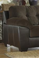 Fabric/Faux Leather Upholstery