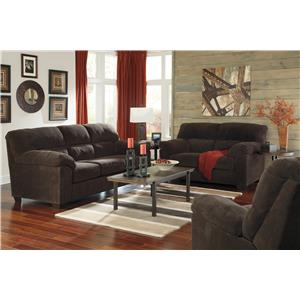 Ashley Zorah Stationary Living Room Group