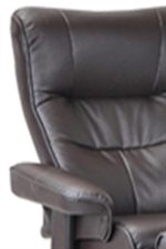 Soft Padded Seats and Arms Bring Living Room Comfort to Dens and Offices