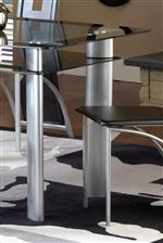 Unique Shelf Below Table Top